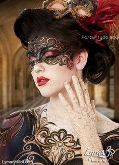 mascara-carnaval-veneza-dourada