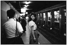 ed van der elsken - tokyo, metro station, 1981