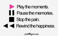 moments, memories, pain, happiness quotes quote happy life memories pain radio