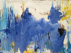 Abstract painting by Shelley Heffler