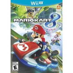 Mario Kart 8 Nintendo Wii U Game Complete with Case & Manual