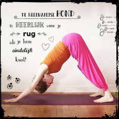Even niks – in je bubbel Yoga, Yoga Sayings