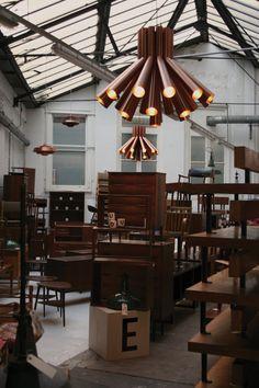 Lighting by PSLab on Danish Warehouse, London.