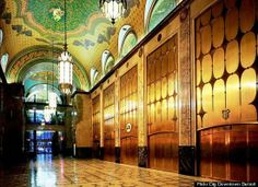 Detroit Wedding Locations: - Fisher Building
