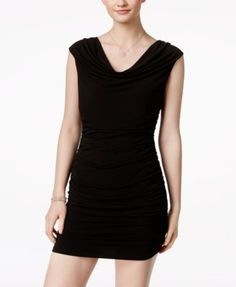 BCX Ruched Bodycon Beaded Dress | macys.com