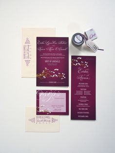 Lovely Day Atelier // Ericka & Karen Wedding Invitation Suite // Ericka Holbert and Karen O'Connell // Design and Illustration – Jessica Suhr