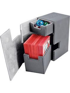 Ultimate Guard Flip 'n' Tray Deck Case GREY XenoSkin 80+