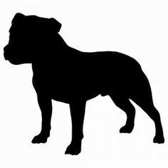 +Staffordshire+Bull+Terrier+Aufkleber+Hund