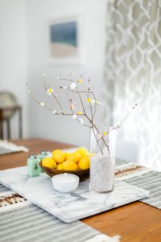 Simple Pom Pom Petaled Branches