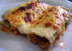 Canelones, traditional Catalan dish for Christmas