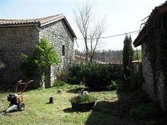 Cellettes houses: Near Mansle, Charente.