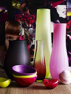 Dinosaur Designs Plum Collection by Melbourne's GPO, via Flickr. Glass and resin