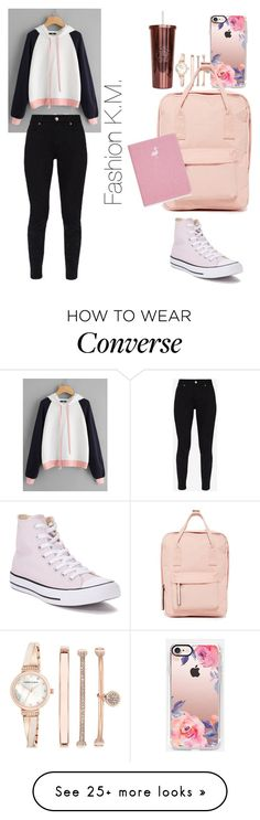 """"" by karinemarutyan on Polyvore featuring Anne Klein, Casetify, Ted Baker, Converse and Madden Girl"