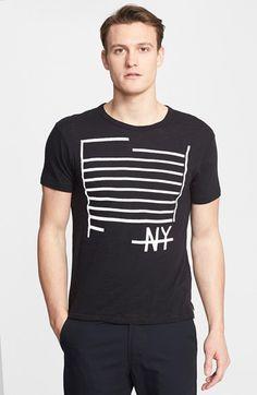 Todd Snyder 'NY' Slub Graphic T-Shirt #Nordstrom | Frank Ozmun Graphic Design