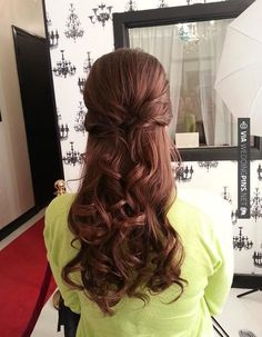 Like this! - hair | CHECK OUT MORE IDEAS AT WEDDINGPINS.NET | #weddings #hair #weddinghair #weddinghairstyles #hairstyles #events #forweddings #iloveweddings #romance #beauty #planners #fashion #weddingphotos #weddingpictures