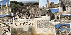 Ephesus Scrapbook Page