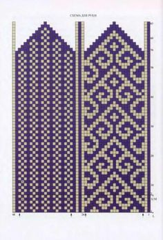 Made mittens from Telemark yarn, now discontinued. Love the density for mittens. Knitting Charts, Knitting Stitches, Knitting Patterns, Bead Loom Patterns, Beading Patterns, Stitch Patterns, Mittens Pattern, Knit Mittens, Tapestry Crochet
