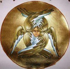 Серафимы и херувимы – 186 photos | VK Byzantine Icons, Byzantine Art, Catholic Art, Religious Art, Angel Hierarchy, Seraph Angel, Orthodox Icons, Angel Art, Ancient Aliens