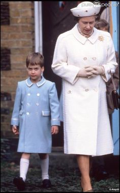 The Queen and a future King.