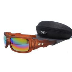 8bdbc28b31a  13.99 Cheap Oakley Oil Rig Sunglasses Blue Pink Yellow Iridium Clear Brown  Frames Us Outlet Deal www.racal.org