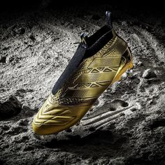 @adidasfootball reveal limited edition space craft edition of the Purecontrol and X16. Bling. Available tomorrow... . . photo; @adidasfootball . . #footydotcom #fcfc #footy #footballboot #soccercleats #football #soccer #futbol #futbolsport #cleatstagram #total_soccer #fussball #footballboots #adidas #adidasfootball #adidassoccer #firstneverfollows #purecontrol #ace #x16 #gold #featuredfootwear #newrelease #footballgame
