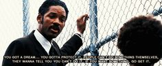 the pursuit of happiness .. amazing and very inspiring movie.