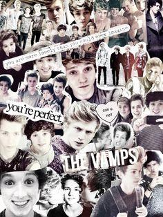 The Vamps Bradley Simpson, Tristan Evans, James McVey, Connor Ball <3