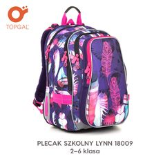 Plecak Topgal - lekki i wygodny, w kolorowe pióra. Backpacks, Model, Bags, Fashion, Mathematical Model, Handbags, Moda, Fashion Styles