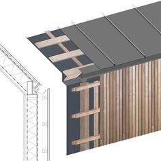 Afbeeldingsresultaat voor larch cladding detail eaves