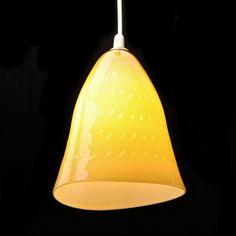 Nyman Gunnel Kattovalaisin. Korkeus 22 cm Glass Pendant Light, Glass Pendants, Modern Glass, Glass Design, Finland, Glass Art, Table Lamp, Lights, Contemporary