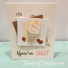 Cool Treat Stampin' Up!