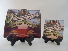 Berry Weiss Beer Coaster