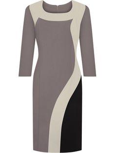 Produkcja bieżąca stabilna - przyjmujemy zamówienia na dostępne w magazynie i niedostępne - produkt możemy sprowadzić w przeciągu kilku dni do tygodnia. Stylish Dresses, Cheap Dresses, Elegant Dresses, Vintage Dresses, Office Dresses For Women, Dresses For Work, Clothes For Women, Classy Dress, Classy Outfits