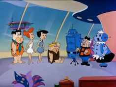 The Jetsons Meet The Flintstones Classic Cartoon Characters, Cartoon Fan, Classic Cartoons, Cartoon Shows, Cartoon Drawings, The Proud Family, Seasons In The Sun, Vintage Cartoons, Merrie Melodies
