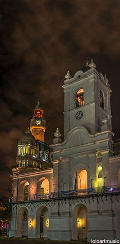 Cabildo and Clock Tower, Buenos Aires, Argentina