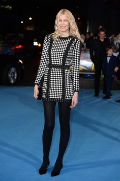 Go Black And White - Celebrity-Inspired Ways to Wear Tights This Holiday Season - Photos