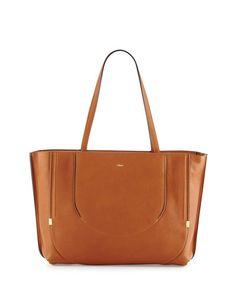 035dda7f5898 CHLOÉ Isa Calfskin Shopper Tote Bag