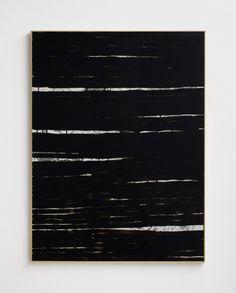 "Sam Moyer, ""Breakers I,"" 2013, ink on canvas, glass paint, glass, Plexiglas, Nielsen frame, 48 x 36 inches, 121.9 x 91.4 cm"