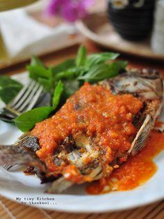 ปลาราดพริก สูตรพี่บี๊บ่งบ๊ง อร่อยจนต้องบอกต่อ ^_^