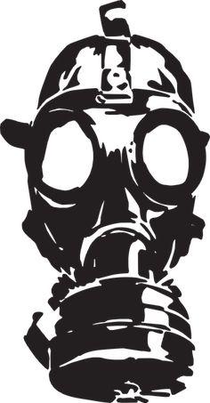 Free Image on Pixabay - Gas Mask, War, Old, Protection, Gas Source by de gas Gas Mask Drawing, Gas Mask Art, Masks Art, Gas Masks, Tattoo Mascara, Graffiti Art, Stencil Graffiti, La Muerte Tattoo, Art Sketches