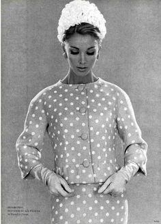 1962 suit by Jacques Heim