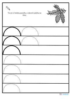 E-předškoláci - Podzim v lese Pre School, Preschool Activities, Kids And Parenting, Free Printables, Kindergarten, Crafts For Kids, Education, Print Templates, Printing
