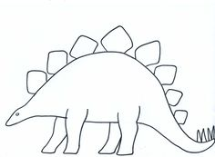 Triceratops pattern. Use the printable pattern for crafts, creating ...