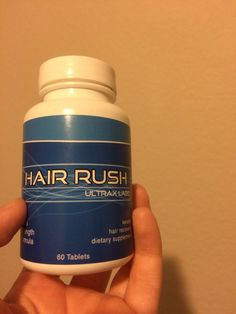 I got my Hair Rush supplements today. Can't wait to start taking them.
