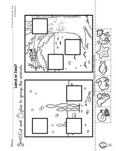 A print and use literature worksheet to follow up A House