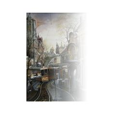 imageGx ❤ liked on Polyvore featuring backgrounds, tubes, city, scenery and art