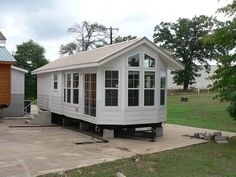 Wood Tex Park Model Franklin Is 374 Square Feet Plus An 11x14