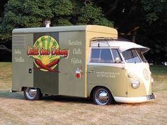 vwcamper:  doyoulikevintage:  1964 VW Bulli Australian Container Van  Fuck yes, container van! Rare as!
