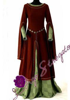 abiti medievali femminili nobili - Cerca con Google