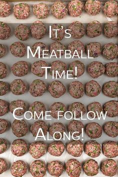 It's Meatball Time on The Cookful. That's right, our newest series, Meatballs, has begun. Come follow along and have a ball with us!  #meatballs #cookingtips #thecookful